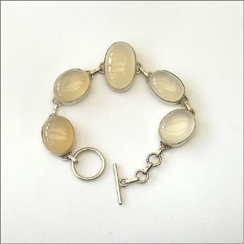 Indian Bracelet with Misty Quartz